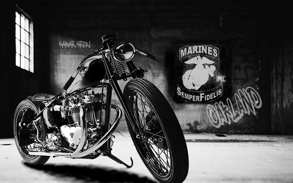 Marines motorcycle club oakland for Outboard motor shop oakland